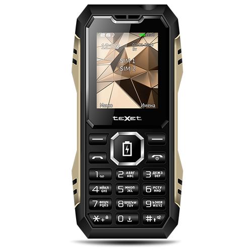 Телефон teXet TM-D429 черный