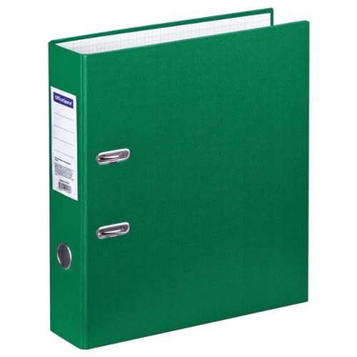 Купить OfficeSpace Папка-регистратор A4, бумвинил, 70 мм зеленый, Файлы и папки