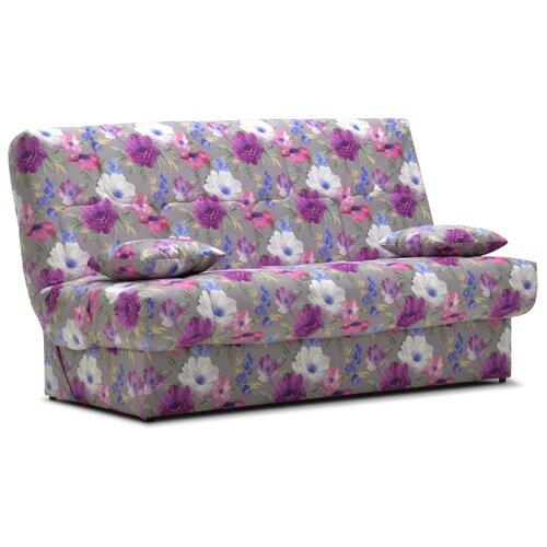 Диван Ладья Вернисаж размер: 195х105 см, спальное место: 190х130 см, обивка: ткань, разноцветный диван книжка ладья джаз серый
