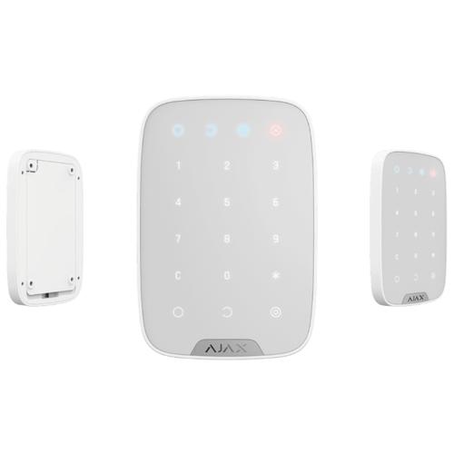 Беспроводная сенсорная клавиатура Ajax KeyPad, белый