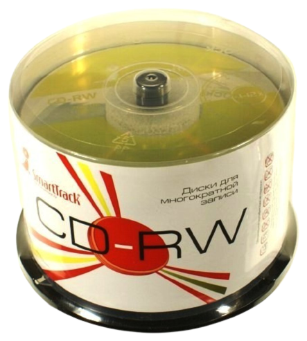 Диск CD-RW SmartTrack 700Mb 4-12x