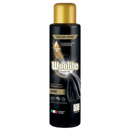 Фото - Гель для стирки Woolite Premium Dark, 0.45 л, бутылка гель для стирки woolite premium pro care 900 мл