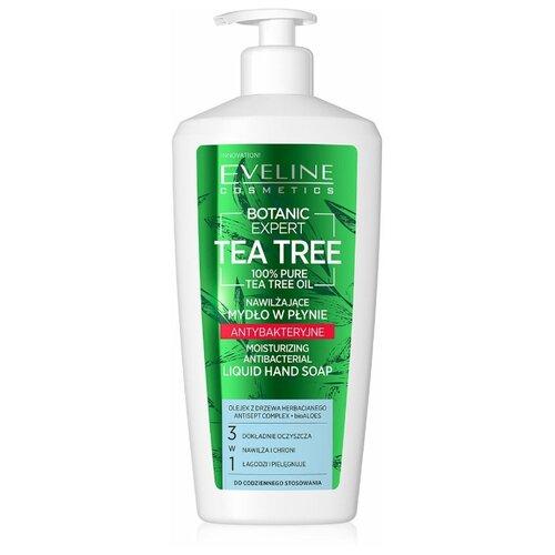 Купить Жидкое мыло Eveline Botanic Expert увлажняющее антибактериальное с чистым маслом чайного дерева 3в1 350мл, Eveline Cosmetics