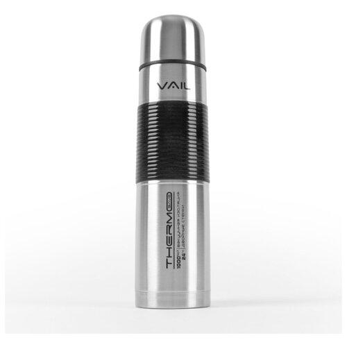 Термос VAIL VL-7018 узкое горло 1,0 л. силиконовая вставка