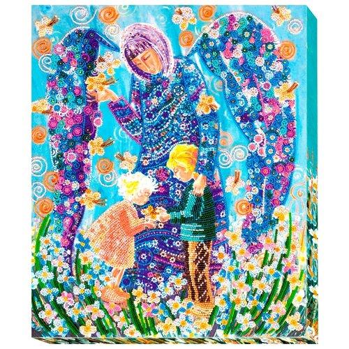 Купить ABRIS ART Набор для вышивания бисером Берегиня 31 х 37 см (AB-530), Наборы для вышивания