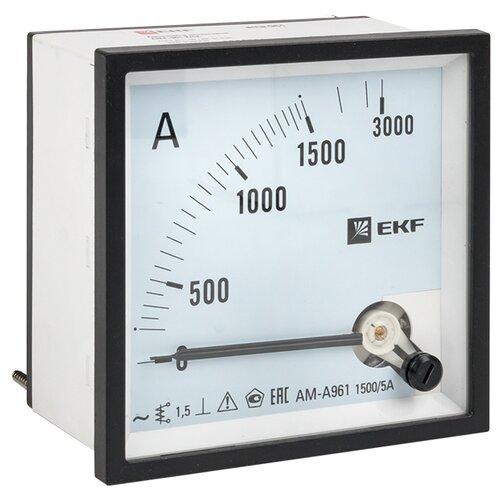 Амперметр для установки в щит EKF AMA-961-1500