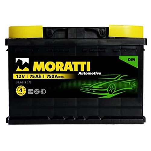 MORATTI Аккумуляторная батарея автомобильная 75 A/h обратная полярность