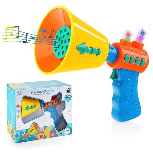 Музыкальная игрушка Oubaoloon Рупор, в коробке (CY-7058B)