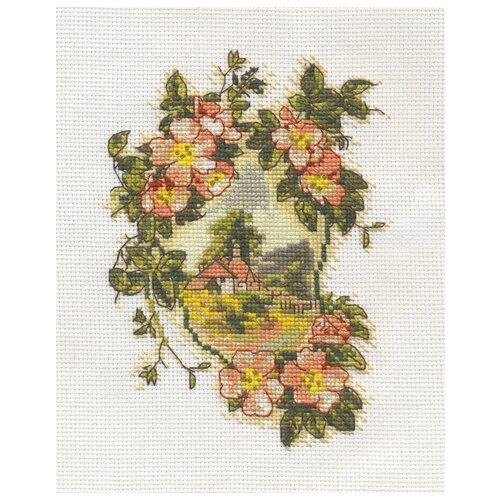 Купить OT-1361 Набор для вышивания PANNA 'В цветах утопая...', Наборы для вышивания