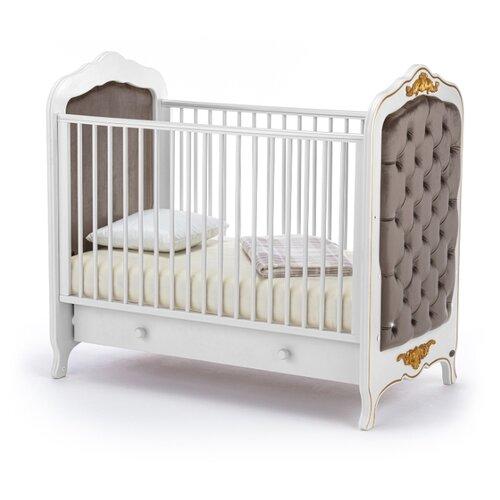 Кроватка Nuovita Fulgore (без качания) (классическая) белый кровати для подростков nuovita fulgore lungo