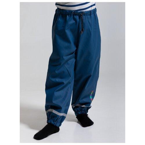 Купить Брюки Symbion размер 140, темно-синий, Полукомбинезоны и брюки