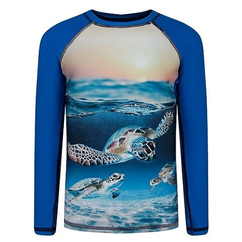 Купить Футболка для плавания Molo размер 98-104, sea turtle sunset, Белье и пляжная мода