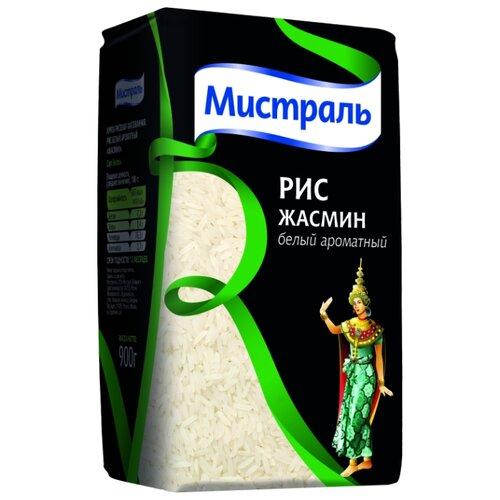 Рис Мистраль Жасмин белый ароматный 900 г мистраль рис жасмин мистраль 0 4 кг