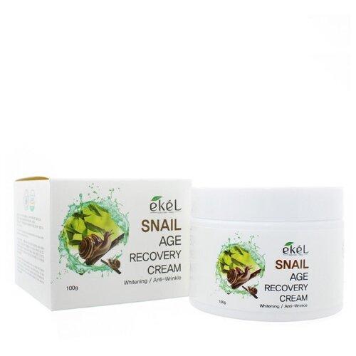 Ekel Age Recovery Cream Snail Крем для лица с муцином улитки 100 гр