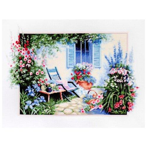 Купить Luca-S Набор для вышивания Цветочный сад 42 x 28 см (B2342), Наборы для вышивания