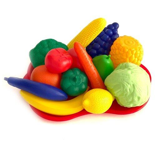 Купить Набор продуктов с посудой Leader №5 МТ3785 разноцветный, Игрушечная еда и посуда