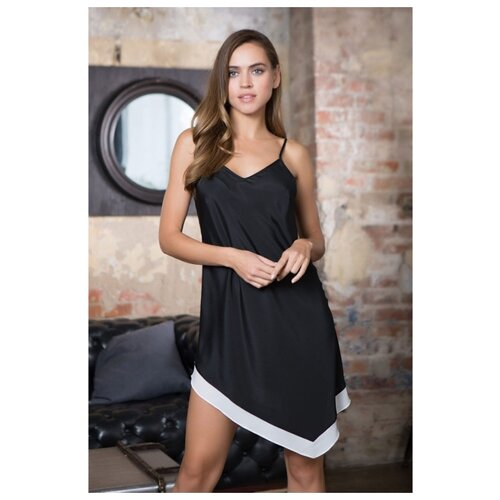 Платье Mia-Mia размер XS(42) черный/белый платье oodji ultra цвет красный белый 14001071 13 46148 4512s размер xs 42 170