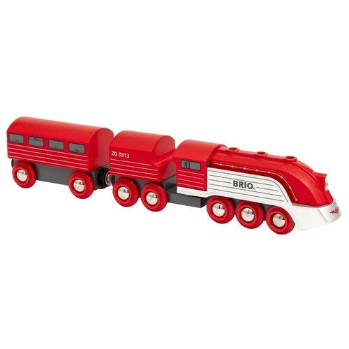 Купить Brio Поездной состав Streamline Train , 33557, Наборы, локомотивы, вагоны
