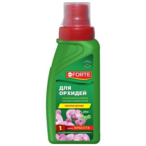 Фото - Удобрение жидкое BONA FORTE серия красота, для орхидей 285 мл (с дозатором) субстрат bona forte для орхидей 1l bf29010191