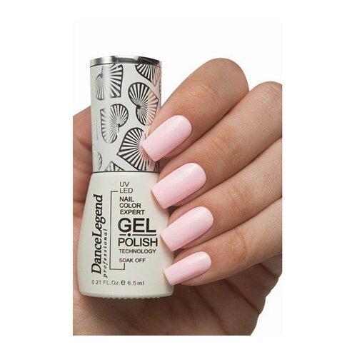 Купить Гель-лак для ногтей Dance Legend Pinky, 6.5 мл, LE126, piggy pudding