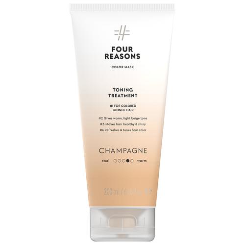 Купить Four Reasons Тонирующая маска для поддержания цвета окрашенных волос Шампанское 200 мл