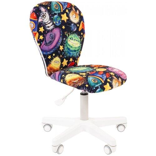 Фото - Компьютерное кресло Chairman Kids 105 детское, обивка: текстиль, цвет: нло компьютерное кресло chairman kids 101 детское обивка текстиль цвет монстры