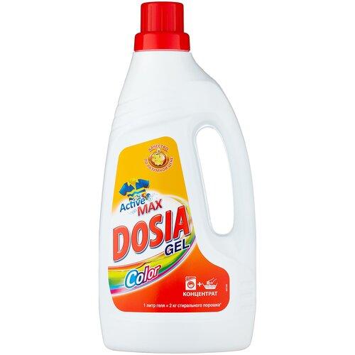 Гель для стирки Dosia Active 3 Color, 1 л, бутылка недорого