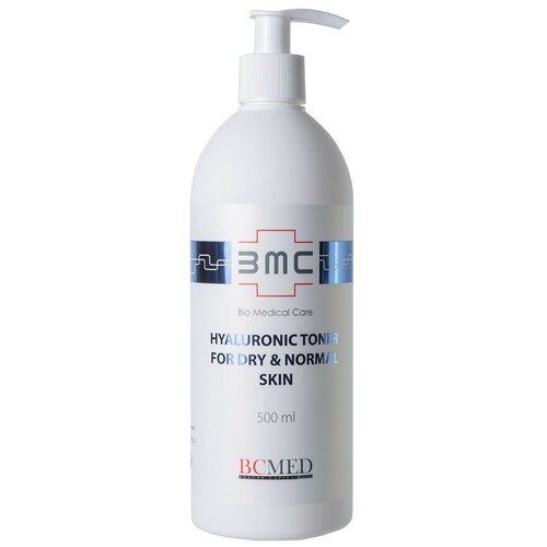 Bio Medical Care Тоник Hyaluronic Toner for dry & normal skin, 500 мл недорого