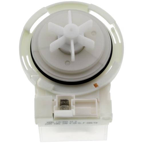 Сливной насос (помпа) Copreci без улитки 4 защёлки для стиральной машины Bosch (Бош), Siemens (Сименс) 30W