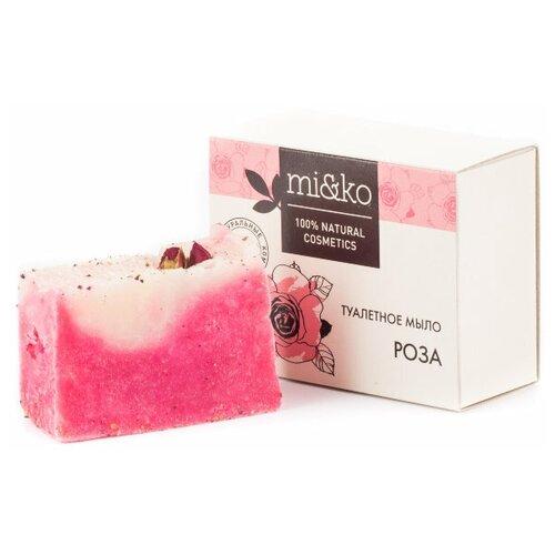 Купить Мыло кусковое MI&KO Роза, 75 г