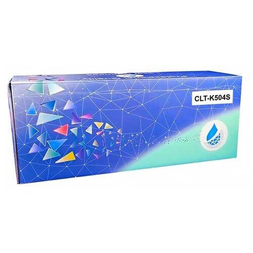 Фото - Картридж Aquamarine CLT-K504S (совместимый с картриджем Samsung CLT-K504S) картридж aquamarine clt c609s совместимый с samsung clt c609s clt 609s цвет голубой на 7000 стр печати