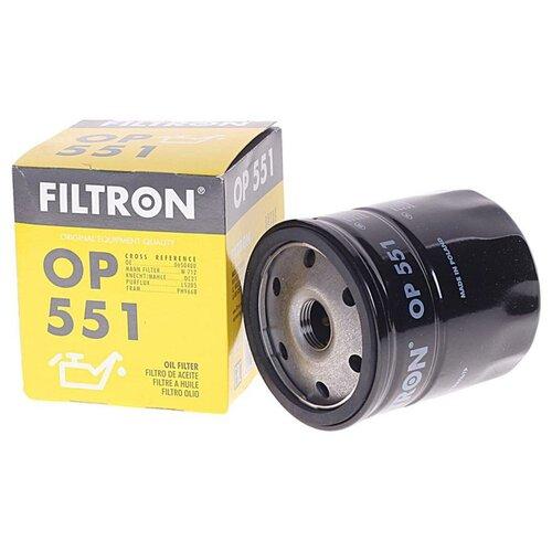 Масляный фильтр FILTRON OP 551