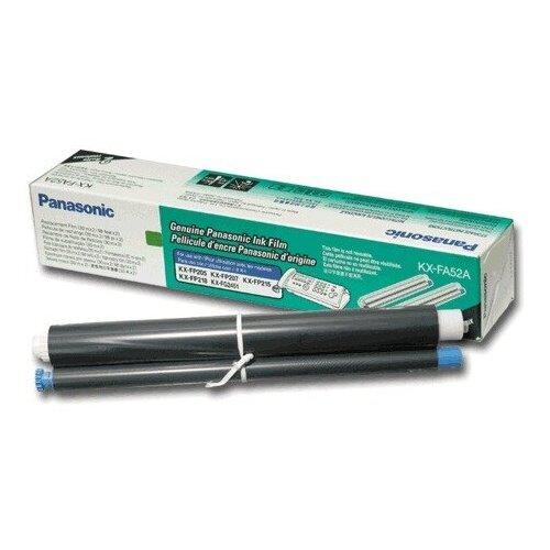 Термопленка для факса PANASONIC KX-FP205/207/215/218/FC228 KX-FG2451 (KX-FA52A) КОМПЛЕКТ 2 шт., оригинальная 360517