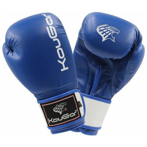 Боксерские перчатки Kougar KO200-KO600 синий 4 oz
