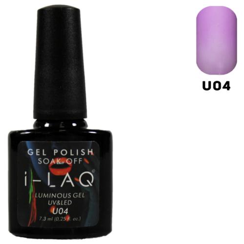 Фото - Гель-лак для ногтей I-LAQ Люминесцент, 7.3 мл, U04 i laq гель лак 020