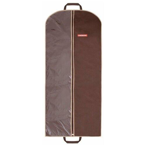 Фото - HAUSMANN Чехол для одежды HM-701402 60x140 см коричневый hausmann чехол для верхней одежды hm 701403 140x60 см черный