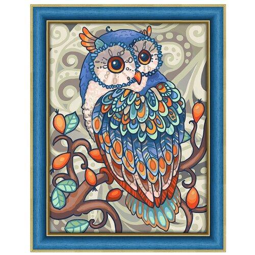 Купить Алмазная живопись Набор алмазной вышивки Совушка (АЖ-1607) 30x40 см, Алмазная вышивка