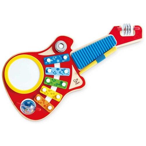 Купить Hape набор музыкальных инструментов E0335 красный/голубой/желтый, Детские музыкальные инструменты