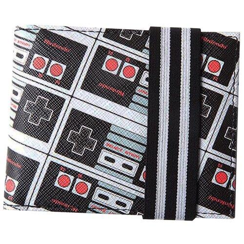 Кошелек Difuzed: Nintendo: NES Controller AOP Bifold Wallet MW481632NTN кошелек obey drexel bifold wallet black