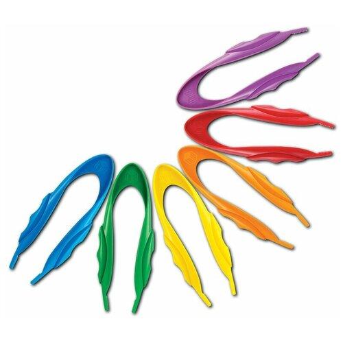 Развивающая игрушка Learning Resources Гигантские щипчики голубой/зеленый/желтый/оранжевый/красный/фиолетовый