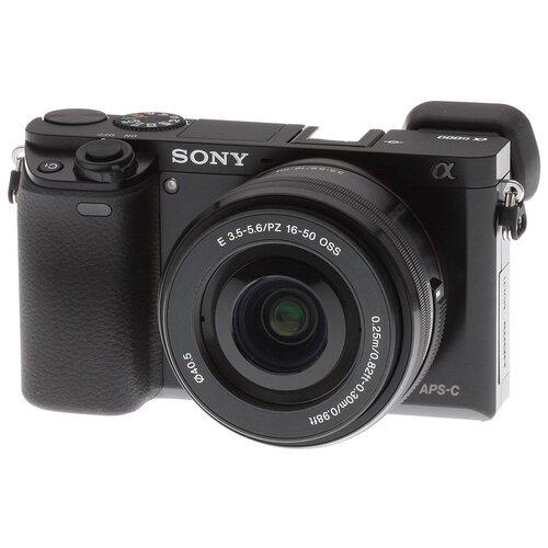 Фото - Фотоаппарат Sony Alpha ILCE-6000 Kit черный E PZ 16-50mm f/3.5-5.6 OSS NP-FW50 sony np fw50