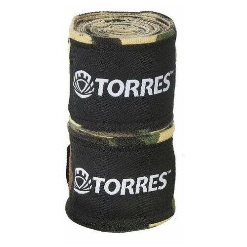 Кистевые бинты TORRES PRL62017 3.5 м камуфляж