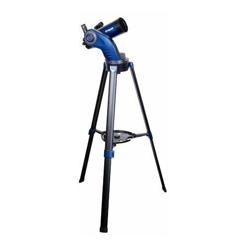 Фото - Телескоп Meade StarNavigator NG 90mm MAK черный/синий телескоп meade lx90 12 f 10 acf с профессиональной оптической схемой