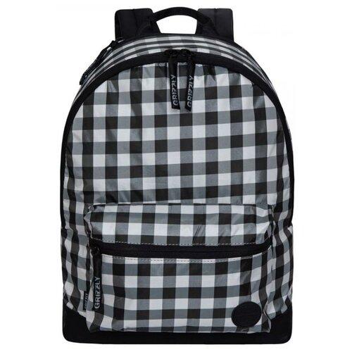 Рюкзак Grizzly RX-022-2/3 15 (черный/серый) рюкзак grizzly rx 022 8 1 перья