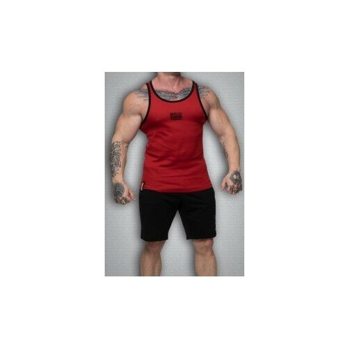 Майка мужская GET BIG 3465 красная размер S