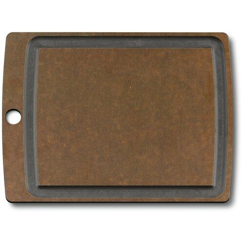 Фото - Разделочная доска VICTORINOX 7.4112, 29.2х22.9 см, коричневый разделочная доска paderno 42538 53х32 5 см коричневый