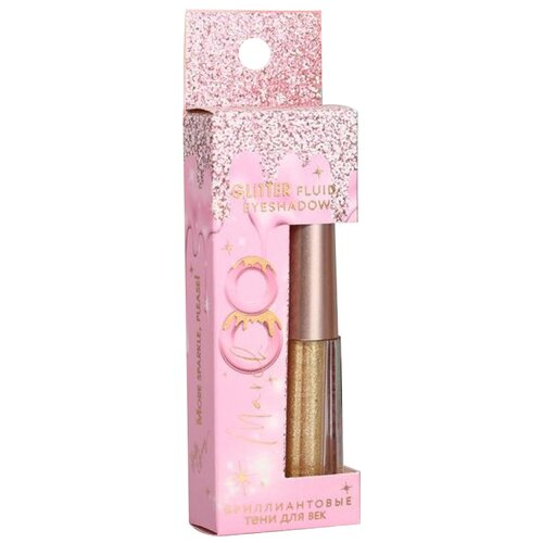 Купить Beauty Fox Глиттерные тени для глаз You are perfect №2 золотистый