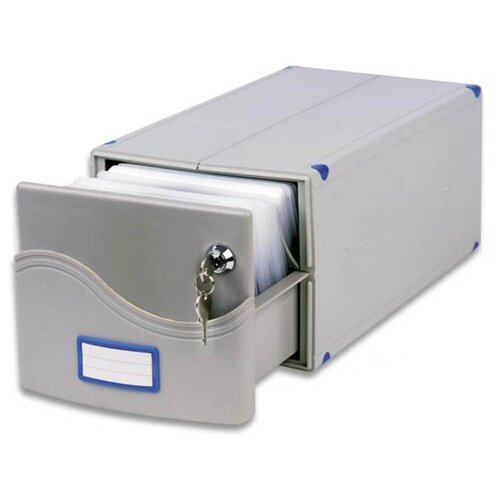 Фото - Бокс ProfiOffice MB 200SL, серый портмоне profioffice mt 48s синий