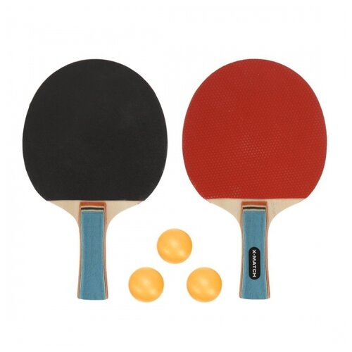 Набор для наст.тенниса, комплектность: 2 ракетки 8 мм., 3 шарика