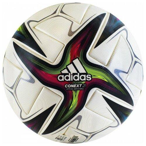 Мяч футбольный Adidas Conext 21 PRO арт.GK3488 р.5 футбольный мяч adidas conext 19 omb dn8633